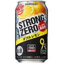 -196℃ストロングゼロ ダブルレモン/サントリー 350ml缶 350ML × 24本