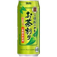 宝 焼酎のやわらかお茶割り 480ml缶 480ML × 24本