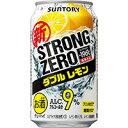-196℃ストロングゼロ ダブルレモン/サントリー 350ml缶 350ML × 24缶