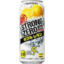 -196℃ストロングゼロ ダブルレモン/サントリー 500ml缶 500ML × 24本