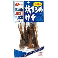なとり JUSTPACK 焼するめげそピリ辛味   13G 1袋