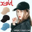 X-girl エックスガール キャップ レディース BASIC LOGO CAP 帽子 05191026