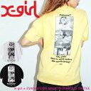 X-girl エックスガール Tシャツ X-girl × EVANGELION MISATO BEER S/S TEE レディース 半袖 エヴァンゲリオン 105201011036
