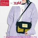ショッピングマンハッタンポーテージ X-girl エックスガール マンハッタン ポーテージ ショルダーバッグ 【X-girl × Manhattan Portage Far Rockaway Bag】メッセンジャーバッグ レディース バッグ 105201053006