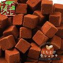 くちどけ生ショコラ 生チョコレートをどっさり500gの大容量! 東京 自由が丘のチュベドショコラの割れチョコが生チョコに! クーベル..