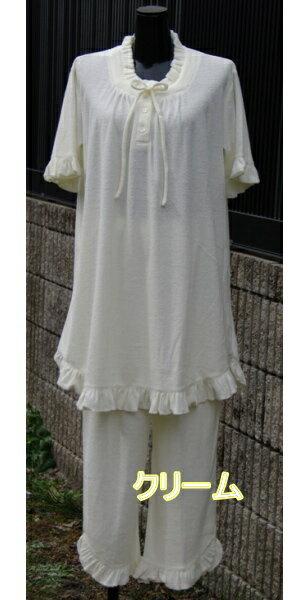 鎌倉トムお勧めパイルレディース半袖パジャマ【楽ギ...の商品画像