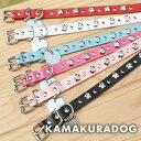 ◆メール便送料無料◆【犬 首輪】【小型犬 首輪】スタッズフラワー首輪Sサイズ