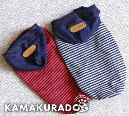 【ドッグウェア】【犬の服】細ボーダータンクトップ