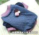 ◆メール便送料無料◆【kamakura dog】【犬 服】ローズシャツ