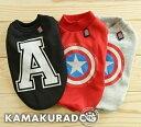 ◆メール便送料無料◆【ドッグウェア】【犬の服】A&スターシャツ