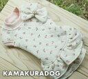 ◆メール便送料無料◆【ドッグウェア】【犬の服】キルティングワンピース