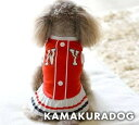 ◆メール便送料無料◆【ドッグウェア】【犬 服】チアNEW YORKワンピース