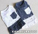 ◆メール便送料無料◆【ドッグウェア】【鎌倉ドッグ】【犬 服】ビジューワンピース