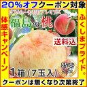 【クーポン使用で20%オフ】桃 ギフト 福島 【 予約 福島 桃 あかつき 特秀品 1.8kg 7