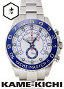 ロレックスヨットマスターII Ref.116680 ホワイト (ROLEX Yacht MasterII)