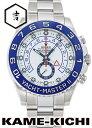 【中古】ロレックス 3年保証 ヨットマスターII Ref.116680 ホワイト (ROLEX Yacht MasterII)【楽ギフ_包装】