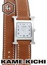 エルメス Hウォッチ Ref.HH1.210.131 新品 ホワイト (HERMES H Watch)【楽ギフ_包装】