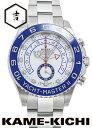 ロレックス ヨットマスターII Ref.116680 新品 ホワイト(新針) (ROLEX Yacht MasterII)【楽ギフ_包装】