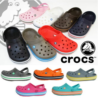 Crocs 11016 クロックバンド / crocs crocband mens Womens Aqua Sandals casual black, Navy, red, espresso / / fs2gm