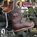 チペワ CHIPPEWA 送料無料 メンズ ブーツ エンジニアブーツ ショートブーツ スチールトゥ 7インチ カジュアル 2色 コードバン タン evid
