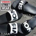 ヴィジョン ストリートウェア VISION STREET WEAR メンズ レディース シャワーサンダル VSW-8114 ZUMA コンフォートサンダル シャワサン カジュアル 000 ホワイト 010 ブラック evid |3