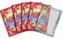【新品】 DM デュエル マスターズ カードプロテクト ◆火文明 ◆ 赤色 レッド スリーブ 42枚 透明プロテクト 13枚入り