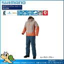 【16秋冬新色】シマノ 16 RB-025M DSアドバンスウォームスーツ ムーキビーブルー:L(28900)