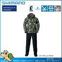 【17新作】シマノ 17 RA-025Q DSアドバンススーツ カーキウェイブカモ:3XL(27500)