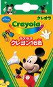 ミッキーマウスラメラメクレヨン16色(CN-8742809A)