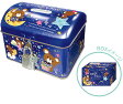 カギ付CANBANK(ミルクチョコ)Q-Lia(クーリア)鍵付缶型貯金箱(スチール缶ちょきん箱)(ql-06109)