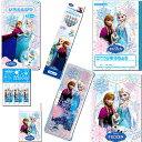 アナと雪の女王 ディズニー(Disney)鉛筆2B+色鉛筆12色7点文具セット(16any-2B+12c-7set)【鉛筆名入れ無料】