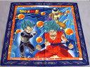 ドラゴンボール超(スーパー)ランチクロス(ナフキン)青ふちゴクウ&ベジータ&フリーザ柄(dbs-lk-F2)