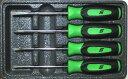 スナップオン ミニドライバー セット グリーン SGDX40BG 並行輸入品
