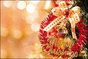 クリスマスカード サンタクロース サンタ 【DMC-066-L】【DMH-066-L】100枚パック メッセージカード ハガキサイズ デザインメッセージカードに...