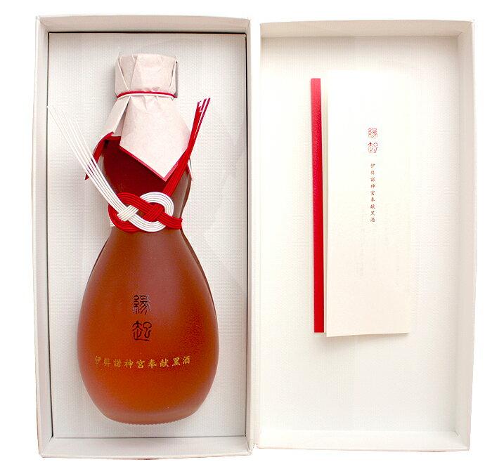 御神酒 古代米酒 「縁起」 伊弉諾神宮奉納黒酒 300ml