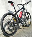 マウンテンバイク 26インチ自転車 ブラック ホワイトシマノ製18段変速ギア取り外し調整可能バーエンドハンドルフロントサスペンション&前後輪ディスクブレーキ採用ダブルサスペンション搭載MTB タウンユースライン クロスバイク