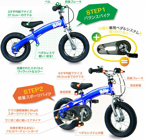 Balance Bike with Pedals