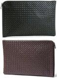 BOTTEGA VENETA BAGボッテガベネタ セカンドバックイントレチャート レザー鞄 BAG バック1000 ブラック 2040 ダークブラウンブラウンボッテガヴェネタ ドキュメントケース書類
