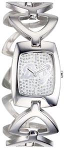 D&G 腕時計ドルガバ アナログウォッチ オーシャンディーバラインストーン文字盤×シルバーDOLCE&GABBANA OCEAN DIVADW0385ディー&ジーレディースドルチェ&ガッバーナアクセサリー ブレスレット