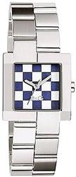 D&G 腕時計 ドルガバ アナログウォッチホワイト×ブルーモザイク文字盤×シルバーブレスDOLCE&GABBANADW0440ドルチェ&ガッバーナディー&ジー ディーアンドジーアクセサリー レディース ブレスレット