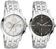 D&G 腕時計ドルガバ アナログウォッチ クロノグラフブラック×シルバーホワイト×シルバーDOLCE&GABBANADW0480 DW0481ディー&ジーメンズドルチェ&ガッバーナアクセサリー