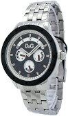 D&G 腕時計ドルガバ ウォッチ ナバジョブラック×シルバー DW0604メタルバンドDOLCE&GABBANA NAVAJOディー&ジードルチェ&ガッバーナ曜日&秒&日付け表示アクセサリー ブレスレットメンズ 男性用