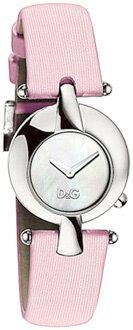 D&G 腕時計ドルガバ アナログウォッチシルバー×ピンクレザーベルト DW0457DOLCE&GABBANAARISTOCRATIC アリストクラティックディー&ジー クォーツレディースドルチェ&ガッバーナアクセサリー ブレスレット