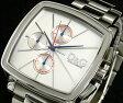 DOLCE&GABBANAD&G WATCH DW0108 GOOD TIMESドルチェ&ガッバーナドルガバ ウォッチ 腕時計 グッドタイムズクロノグラフ ホワイト×メタルバンドセミスクエアフェイス