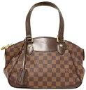 LOUIS VUITTONルイヴィトンダミエ ショルダーバッグヴェローナPM鍵付きブラウン×ダークブラウン(金具:ゴールド)N41117ハンドバッグ トートバッグ鞄 カバン BAG バック