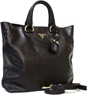 prada brown nylon bag - black prada shoulder bag