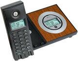 ゼネラルエレクトリックGEコードレス電話機落ち着きのあるコードレス子機GE 27903DE1Cordless TelephoneウッドブラウンシャンパンゴールドGeneral Erectricデザイン