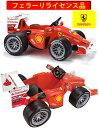 フェラーリ正規ライセンス商品子供用電動乗用玩具F1レースカー ライドオン 乗り物おもちゃをしまえる収納ボックス付きバッテリーカーフェルナンドアロンソ Ferrari F10 ベースモデル家庭用のコンセントに挿すだけの簡単充電
