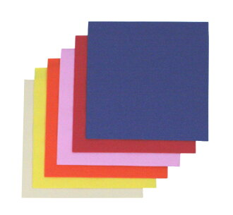 Four color folded napkins 33 cm 2 ply ☆ 100 pieces