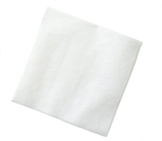 4 Folded white solid color paper napkins 25 cm single-10,000 photos with ☆☆